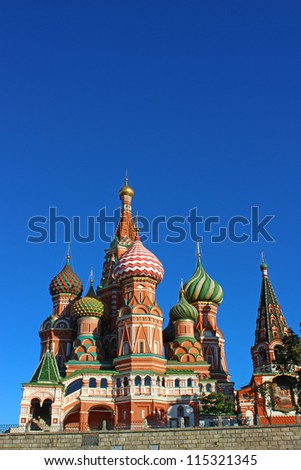 Cathedral of Basil Blessed in Moscow #115321345
