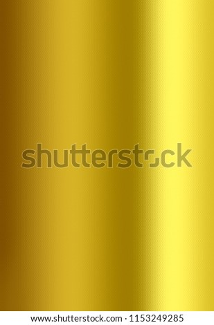 Golden background, Gold foil texture, Metallic gradient sheet, Metal effect. #1153249285