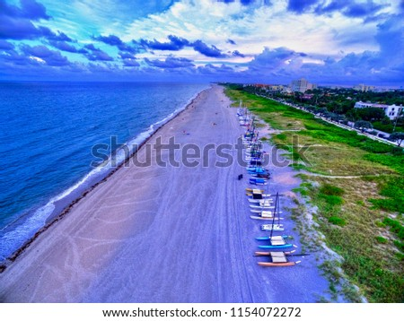 Delray Beach Sailboats #1154072272