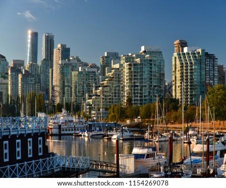 Vancouver, Coal Harbour, British Columbia, Canada #1154269078