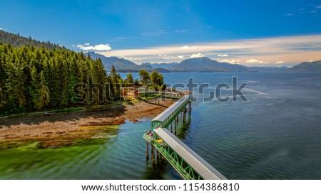 Icy Strait Point, Alaska Royalty-Free Stock Photo #1154386810