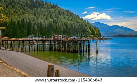 Icy Strait Point, Alaska Royalty-Free Stock Photo #1154386843