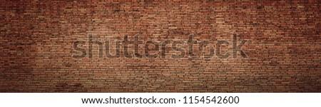 red brick wall texture grunge background #1154542600