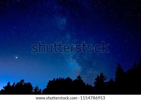 Summer night sky from Porto do Son. #1154786953