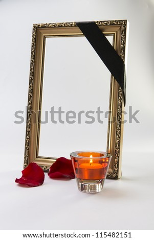 candles and rose petals image