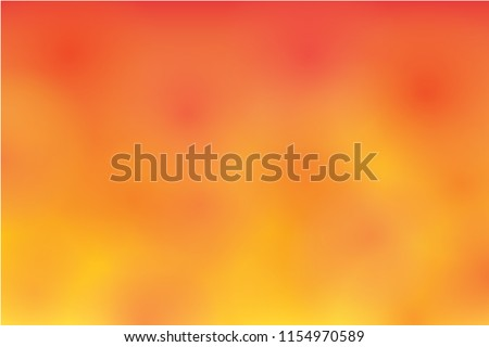Abstract blurry orange background, vector.