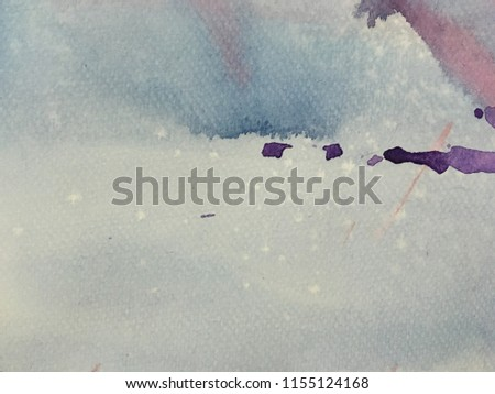 Abstract watercolor texture background. #1155124168