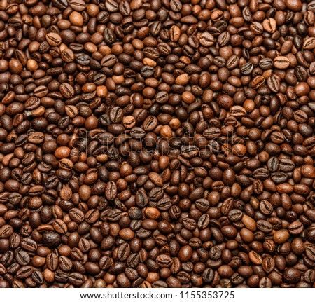 Coffee beans background #1155353725