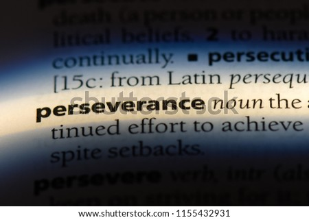 perseverance word in a dictionary. perseverance concept. Royalty-Free Stock Photo #1155432931