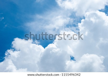 cloud and sky under the sun #1155496342