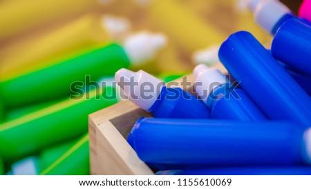 Colorful Medicine Bottle  #1155610069