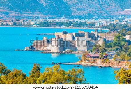 Mamure Castle , Anamur Turkey #1155750454