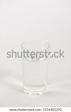glass of water #1156401292