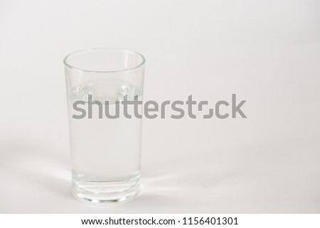 glass of water #1156401301