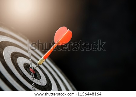 dart target with arrows ,Image for target business, marketing solution concept. #1156448164