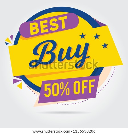 Super sale, Mega sale, Sale Banners, Labels and Stickers. Vector Illustration #1156538206