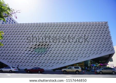 Los Angeles, CA/USA 06 09 2018 Los Angeles city buidling #1157646850