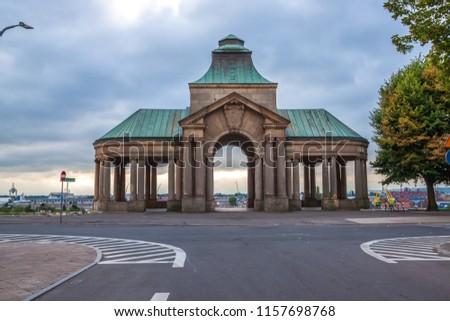 Haken Terrace in Szczecin. Poland Royalty-Free Stock Photo #1157698768
