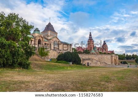 Haken Terrace in Szczecin, Poland Royalty-Free Stock Photo #1158276583