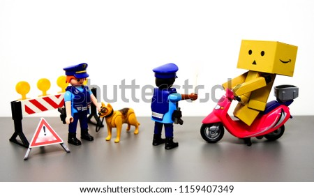 Traffic Control ,the concept of traffic police