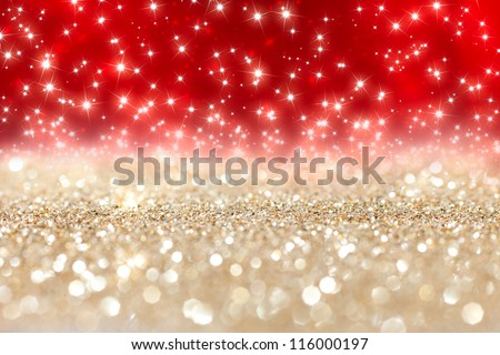 abstract  twinkled  christmas background with stars #116000197