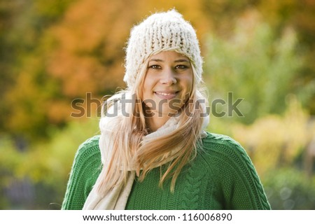 Young cheerful woman #116006890