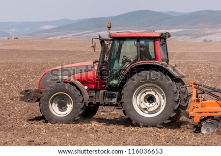 Agricultural machinery used for cultivation #116036653
