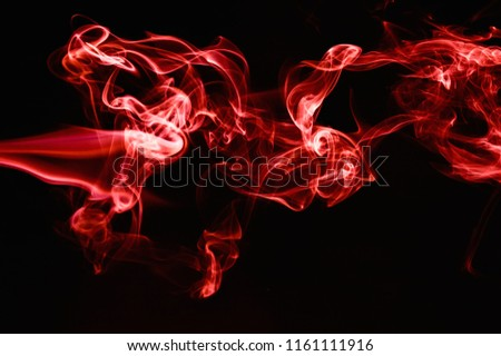 Red Smoke abstract background. #1161111916