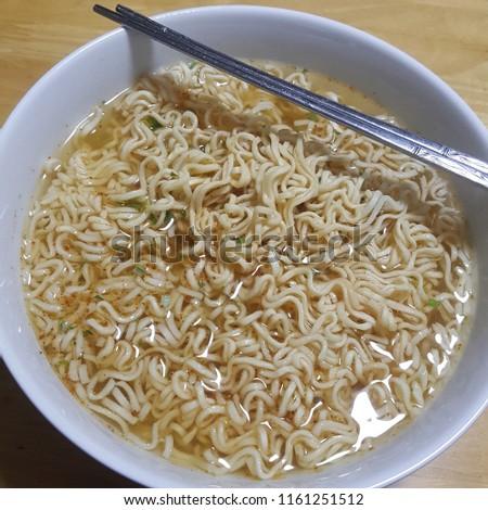 instant noodle bowl #1161251512