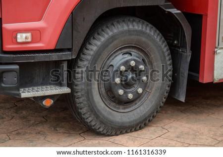 wheel fire truck