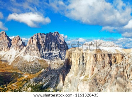 Dolomites mountains landscape #1161328435