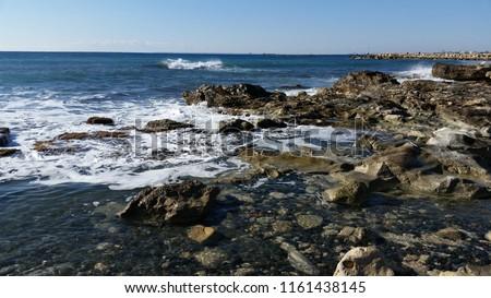 The beautiful Amathus Beach Limassol in Cyprus  #1161438145