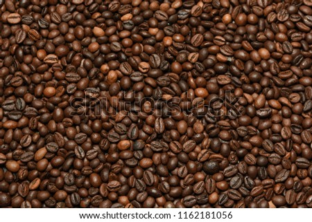 Coffee beans background #1162181056