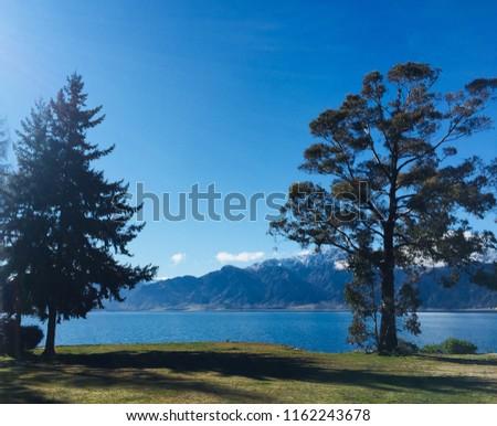 Camping in Lake Hawea  #1162243678