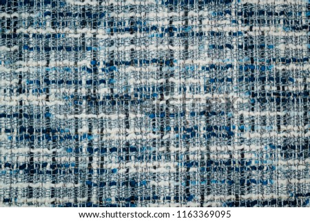 Boucle suiting fabric background texture #1163369095