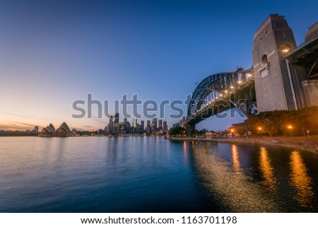 Summer in Sydney, Australia #1163701198