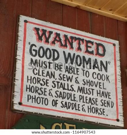 A good woman in South Dakota #1164907543