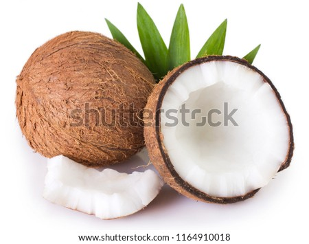 coconut isolated on white background #1164910018