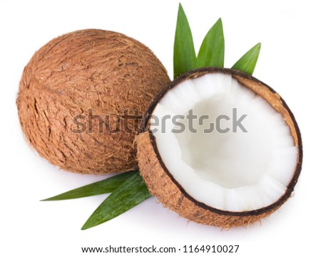 coconut isolated on white background #1164910027