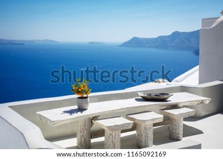 Beautiful santorini landscape #1165092169