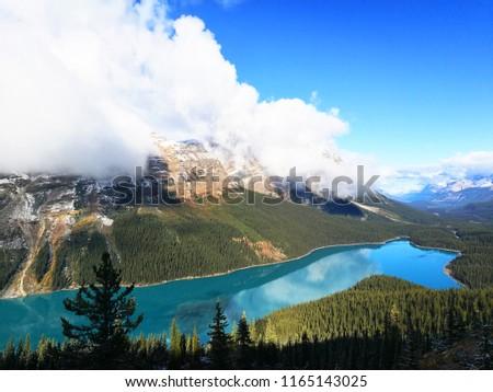 Beautiful Nature of Peyto Lake in Banff National Park, Canada. #1165143025