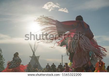 Native American Rain Dance #1165322200