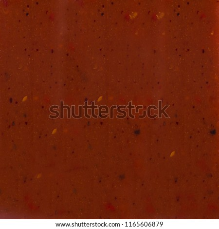 Barbeque sauce  bbq texture