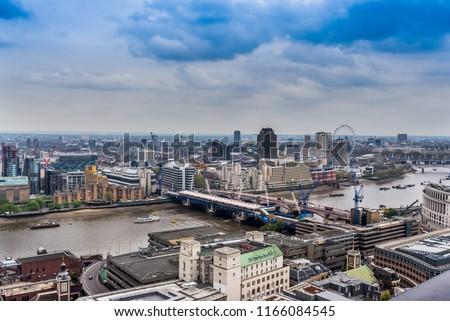 London, England, UK. #1166084545