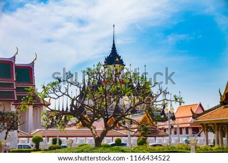 Temple in Bangkok, Thailand #1166434522