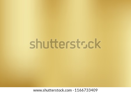 Vector gold blurred gradient style background. Holographic backdrop. Abstract smooth colorful illustration, social media wallpaper Royalty-Free Stock Photo #1166733409