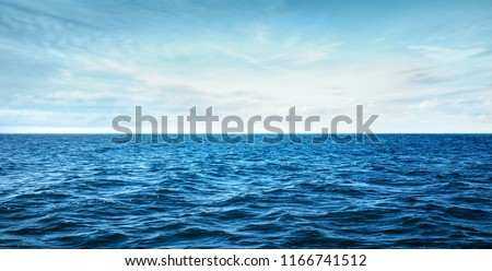 blue ocean waves #1166741512
