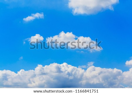 Clouds with blue sky #1166841751