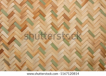 Rattan texture, detail handcraft bamboo weaving texture background. woven pattern.weave #1167120814