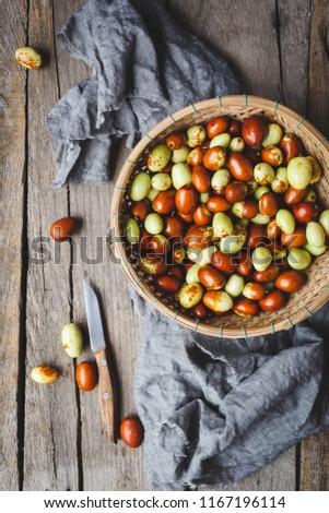Fresh Asian pears #1167196114
